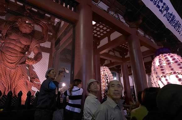 Икэгами хонмон-дзи, ворота Ниомон
